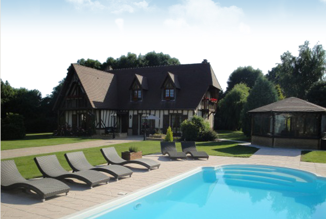 Lovely Honfleur Cottage, Normandy Bu0026B, Close To The Normandy Bridge With Heated  Swimming Pool